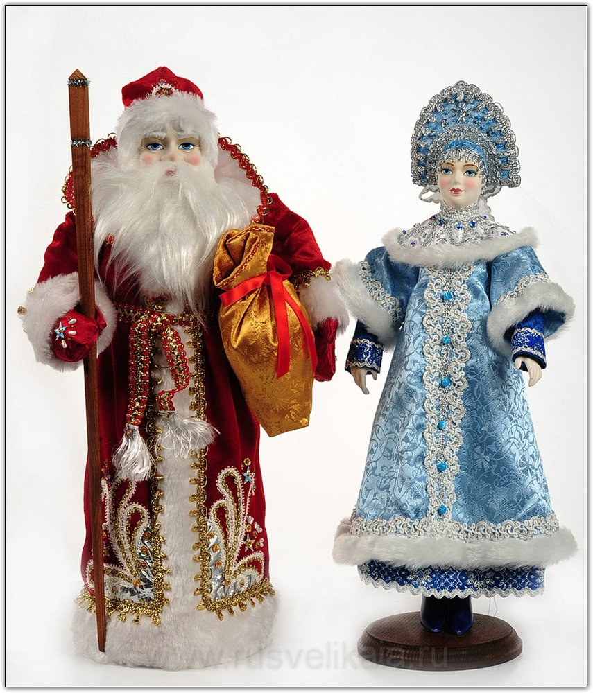 Снегурочка и дед мороз своими руками своими