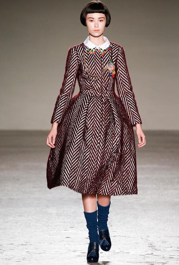 Теплое зимнее платье, фото