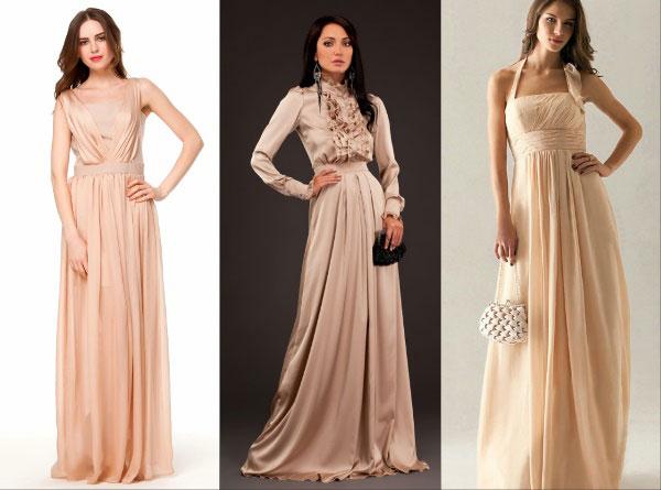 Образ на Новый 2016 год: романтика невинности - длинные платья