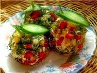 Праздничный салат на новый год 2013   «Новогодние шары»
